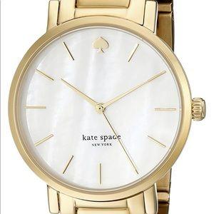 Like-New Kate Spade Gold Watch